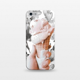 iPhone 5/5E/5s  Floral Ice-Cream by Zala Farah