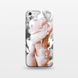 iPhone 5C  Floral Ice-Cream by Zala Farah