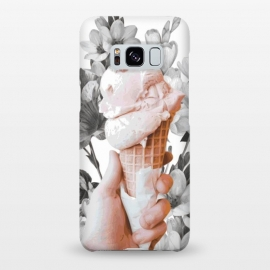 Galaxy S8+  Floral Ice-Cream by Zala Farah