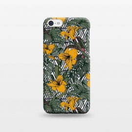 iPhone 5C  Tribal tropical bloom by Mmartabc