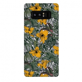Galaxy Note 8  Tribal tropical bloom by Mmartabc