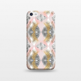 Marbled tropical geometric pattern II by Mmartabc