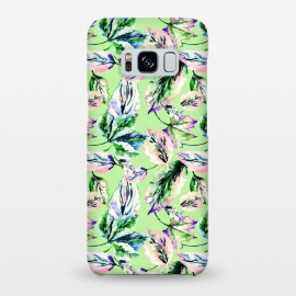 Galaxy S8+  Abstract autumn leaves by Mmartabc
