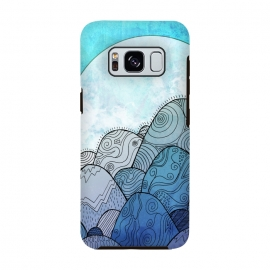 Galaxy S8  Blue Sky Rocks by Steve Wade (Swade)