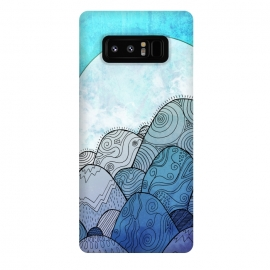 Galaxy Note 8  Blue Sky Rocks by Steve Wade (Swade)