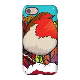 iPhone 8/7  The Big Red Robin by Steve Wade (Swade)