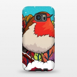 Galaxy S7 EDGE  The Big Red Robin by Steve Wade (Swade)