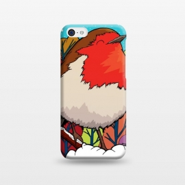 iPhone 5C  The Big Red Robin by Steve Wade (Swade)