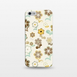 iPhone 5/5E/5s  60s Flowers by Paula Ohreen