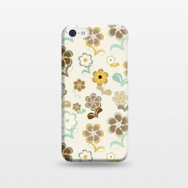 iPhone 5C  60s Flowers by Paula Ohreen