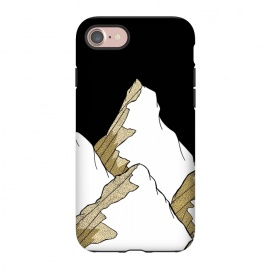 iPhone 8/7  Gold Tone Mountains by Steve Wade (Swade)