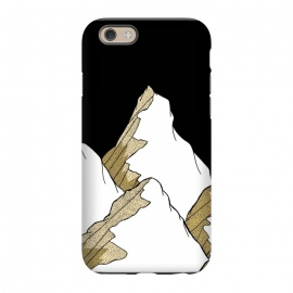 iPhone 6/6s  Gold Tone Mountains by Steve Wade (Swade)