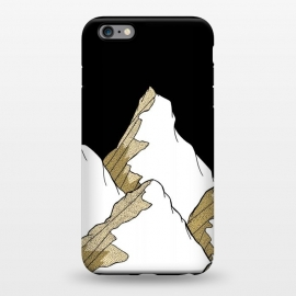 iPhone 6/6s plus  Gold Tone Mountains by Steve Wade (Swade)