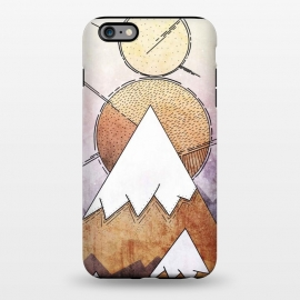iPhone 6/6s plus  Metal Mountains by Steve Wade (Swade)