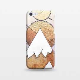 iPhone 5C  Metal Mountains by Steve Wade (Swade)