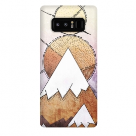 Galaxy Note 8  Metal Mountains by Steve Wade (Swade)