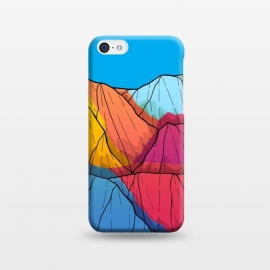 iPhone 5C  Colour outside the mountains by Steve Wade (Swade)