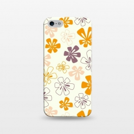 iPhone 5/5E/5s  Funky Flowers by Paula Ohreen