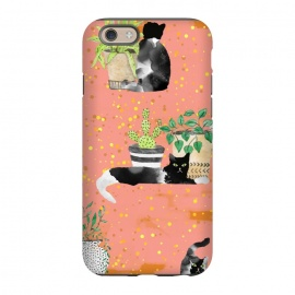 iPhone 6/6s  Cats & Plants by Uma Prabhakar Gokhale