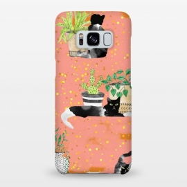 Galaxy S8+  Cats & Plants by Uma Prabhakar Gokhale