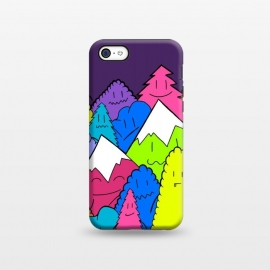 iPhone 5C  Mountains of characters by Steve Wade (Swade)