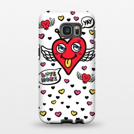 Galaxy S7 EDGE  Heart is my King by Michael Cheung
