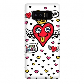 Galaxy Note 8  Heart is my King by