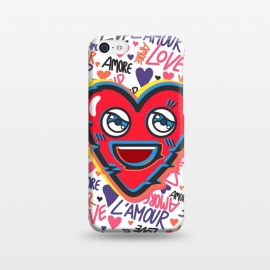 iPhone 5C  LOVE BEAT by Michael Cheung
