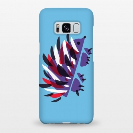 Galaxy S8+  Abstract Colorful Hedgehog by Boriana Giormova