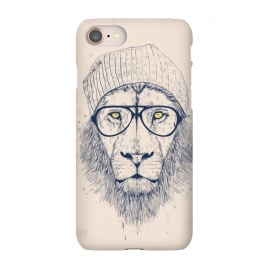 iPhone 8/7  Cool lion  by Balazs Solti (lion,animal,cat,drawing,hipster)