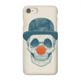 iPhone 8/7  Dead clown by Balazs Solti (skull, clown,drawing)