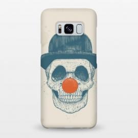 Galaxy S8+  Dead clown by Balazs Solti (skull, clown,drawing)