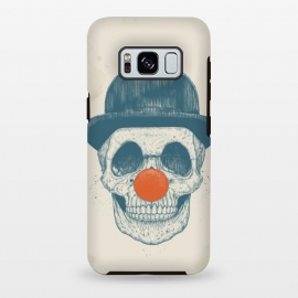Galaxy S8 plus  Dead clown by  (skull, clown,drawing)