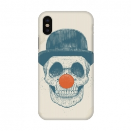 iPhone X  Dead clown by Balazs Solti (skull, clown,drawing)