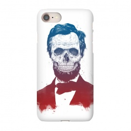 iPhone 8/7  Dead Lincoln by Balazs Solti (Abraham Lincoln,abe,lincoln,president,usa,drawing)