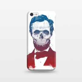 iPhone 5C  Dead Lincoln by Balazs Solti (Abraham Lincoln,abe,lincoln,president,usa,drawing)