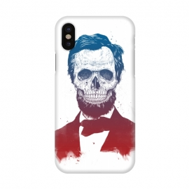 iPhone X  Dead Lincoln by Balazs Solti (Abraham Lincoln,abe,lincoln,president,usa,drawing)