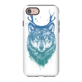 iPhone 8/7  Deer wolf by Balazs Solti