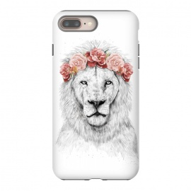 iPhone 8/7 plus  Festival lion by Balazs Solti (summer,spring,flower)