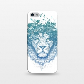 iPhone 5/5E/5s  Floral lion by Balazs Solti