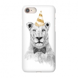 iPhone 8/7  Get the party started by Balazs Solti (lion,party hat,party,drawing)