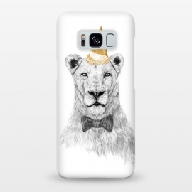 Galaxy S8+  Get the party started by Balazs Solti (lion,party hat,party,drawing)