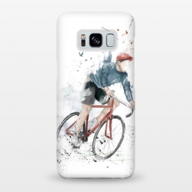 Galaxy S8+  I want to ride my bicycle by Balazs Solti (bicycle,bike,watercolor,painting,grunge)