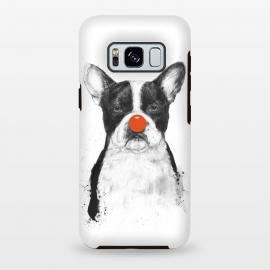 Galaxy S8 plus  I'm not your clown by  (dog,bulldog,clown,drawing,grunge)
