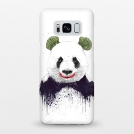 Galaxy S8+  Jokerface by Balazs Solti (comics,panda,funny,drawing,grunge,superhero)