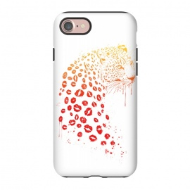 iPhone 8/7  Kiss me by Balazs Solti (lips,kisses,leopard)