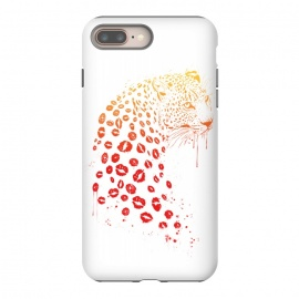 iPhone 8/7 plus  Kiss me by Balazs Solti (lips,kisses,leopard)