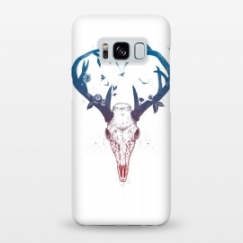 Galaxy S8+  Neverending love by Balazs Solti (deer,heart,antlers)