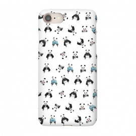 iPhone 8/7  Panda pattern by Balazs Solti (pandas)