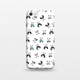 iPhone 5C  Panda pattern by Balazs Solti